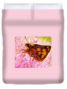 Moth Two Duvet Cover