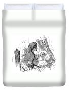 Mother And Child, 1873 Duvet Cover