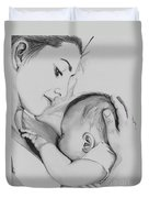 Mother's Love Duvet Cover