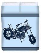 Motorbike 1a Duvet Cover