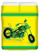 Motorbike 1b Duvet Cover by Mauro Celotti