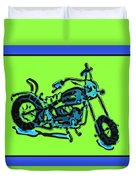Motorbike 1c Duvet Cover