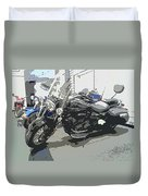 Motorcycle Ride - Three Duvet Cover
