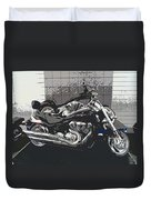 Motorcycle Ride - Two Duvet Cover