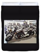 Motorcycle Rides - Five Duvet Cover