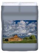 Moulton Barn Morning Duvet Cover