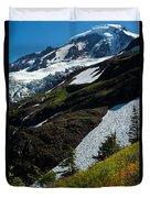 Mount Baker Floral Bouquet Duvet Cover