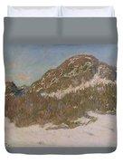 Mount Kolsaas In Sunlight Duvet Cover