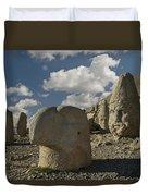 Mount Nemrut Duvet Cover