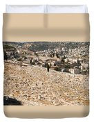 Mount Of Olives Duvet Cover