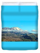 Mount St Helens And Castle Lake Duvet Cover