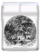 Mount Vernon, 1883 Duvet Cover