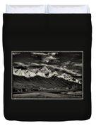 Mountain Canmore Duvet Cover