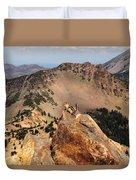 Mountain Climber Duvet Cover