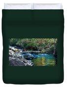 Mountain Creek Duvet Cover