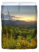 Mountain Evening Duvet Cover