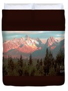 Mountain Glow Duvet Cover