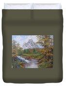 Mountain Landscape Duvet Cover