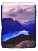 Mountain Scenery Duvet Cover