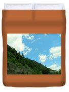 Mountain Side Duvet Cover