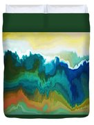 Mountainous Duvet Cover