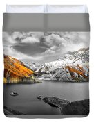 Mountains In The Valley 2 Duvet Cover