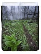 Mountains To Sea Trail Duvet Cover