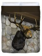 Mounted Moose Duvet Cover