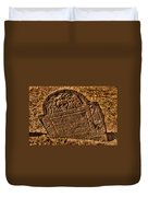 Mountfort - Granary Burying Ground - Greeting Card Duvet Cover