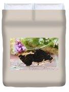 Mourning Cloak Butterfly Lovin' Duvet Cover