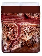 Mouse Lung, Sem Duvet Cover by Science Source