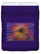 Moving Abstract Lights Duvet Cover
