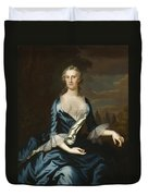 Mrs. Charles Carroll Of Annapolis Duvet Cover
