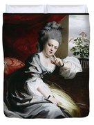 Mrs Clark Gayton Duvet Cover by John Singleton Copley