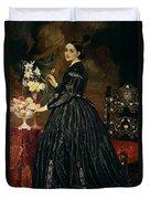 Mrs James Guthrie Duvet Cover