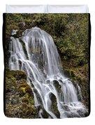 Mt Hood Cascade Duvet Cover