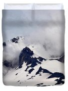 Mt. Hood Duvet Cover by Matt Hanson