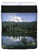 Mt. Ranier Reflection Duvet Cover