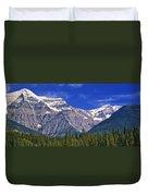 Mt. Robson, British Columbia Duvet Cover