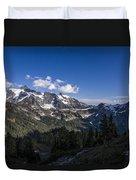 Mt Shuksan Duvet Cover
