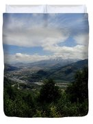 Mt St Helens Lookout Duvet Cover