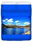 Mtn Lake Bliss Duvet Cover