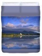 Muckross Lake, Ross Castle, Killarney Duvet Cover