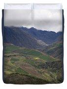 Mucuchies, Merida, Venezuela, Andes Duvet Cover