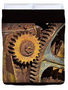 Mud Caked Gears Duvet Cover