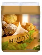 Muffins Fresh And Warm Duvet Cover
