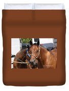 Mule Days Benson Duvet Cover