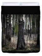 Muleshoe Trees Banff Duvet Cover