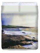Mullaghmore, Co Sligo, Ireland Duvet Cover