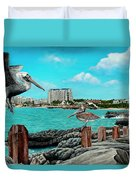 Mullet Bay Duvet Cover